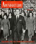 Abundant Life, Volume 12, No 4; April 1958