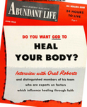 Abundant Life, Volume 12, No 6; June 1958