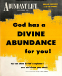 Abundant Life, Volume 12, No 11; Nov. 1958