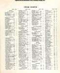 Abundant Life, Volume 12, Index; Dec. 1958
