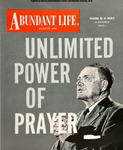 Abundant Life, Volume 13, No 8; Aug. 1959