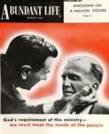 Abundant Life, Volume 14, No 3; March 1960