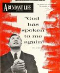 Abundant Life, Volume 14, No 6; June 1960