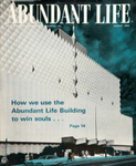 Abundant Life, Volume 16, No 8; Aug. 1962