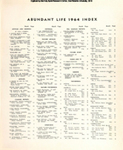 Abundant Life, Volume 18, Index; Dec. 1964