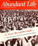 Abundant Life, Volume 19, No 5; May 1965