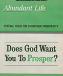 Abundant Life, Volume 20, No 7; July 1966