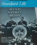 Abundant Life, Volume 21, No 6; June 1967