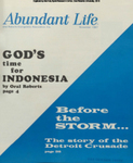 Abundant Life, Volume 21, No 11; Nov. 1967