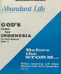 Abundant Life, Volume 21, No 11; Nov. 1967