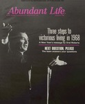 Abundant Life, Volume 22, No 1; Jan. 1968