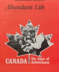 Abundant Life, Volume 22, No 3; March 1968