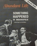 Abundant Life, Volume 22, No 7; July 1968