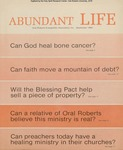 Abundant Life, Volume 23, No 9; Sept. 1969