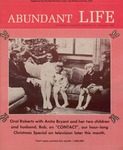 Abundant Life, Volume 23, No 12; Dec. 1969