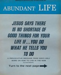 Abundant Life, Volume 24, No 3; March 1970