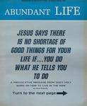 Abundant Life, Volume 24, No 3; March 1970