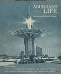 Abundant Life, Volume 24, No 4; April 1970