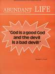 Abundant Life, Volume 25, No 4; April 1971