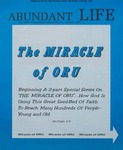 Abundant Life, Volume 26, No 1; Jan. 1972