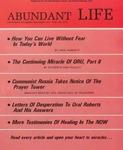 Abundant Life, Volume 26, No 2; Feb. 1972