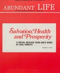 Abundant Life, Volume 26, No 3; March 1972