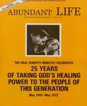 Abundant Life, Volume 26, No 5; May 1972