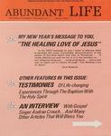 Abundant Life, Volume 27, No 1; Jan. 1973