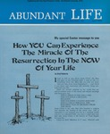 Abundant Life, Volume 27, No 4; April 1973