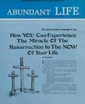 Abundant Life, Volume 27, No 4; April 1973