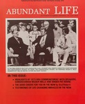 Abundant Life, Volume 27, No 6; June 1973