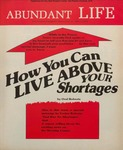 Abundant Life, Volume 28, No 3; March 1974