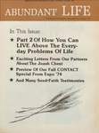 Abundant Life, Volume 28, No 8; Aug. 1974