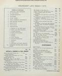 Abundant Life, Volume 29, Index; Dec. 1975