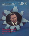 Abundant Life, Volume 31, No 1; Jan. 1977