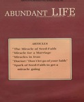 Abundant Life, Volume 31, No 3; March 1977