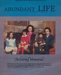 Abundant Life, Volume 31, No 4; April 1977