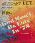 Abundant Life, Volume 32, No 1; Jan. 1978 by OREA