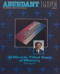 Abundant Life, Volume 37, No 5; May 1983