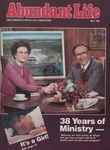 Abundant Life, Volume 39, No 4, May 1985