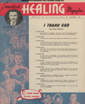 America's Healing Magazine, Volume 7, No 12; Nov. 1953
