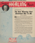 America's Healing Magazine, Volume 8, No 1; Dec. 1953