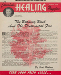 America's Healing Magazine, Volume 8, No 9; Aug. 1954