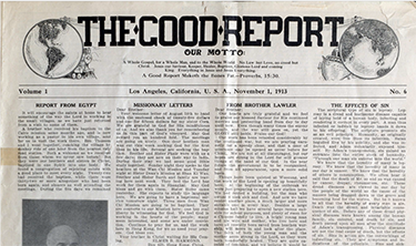 The Good Report (Los Angeles, CA)