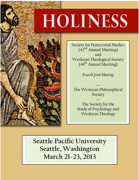 2013 SPS Annual Conference Papers: Holiness (Joint meeting with the Wesleyan Theological Society)