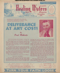 Healing Waters, Vol 07, No 1; Dec 1952